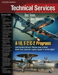 Technical Services Magazine • Summer 2009 - Northrop Grumman ...