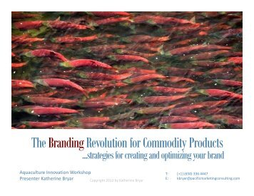 The Branding Revolution for Commodity Products - Tides Canada ...