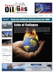 EOG Newspaper November 08 Issue - Egypt Oil & Gas