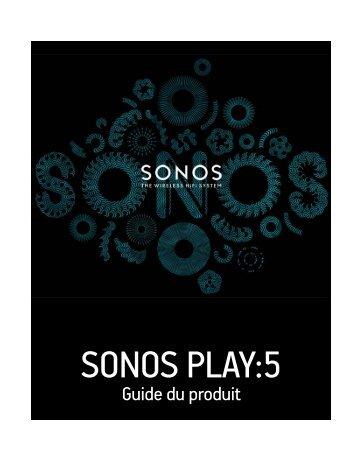 sonos play:5 - ISAD Intégration