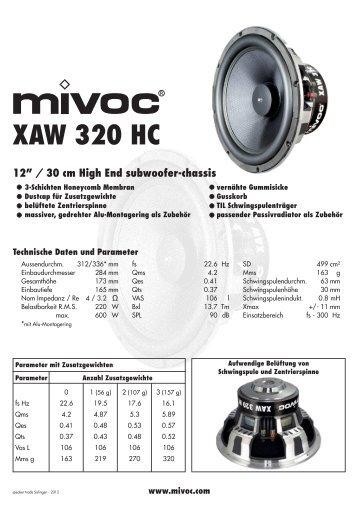 XAW 320 HC