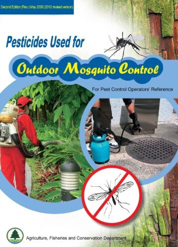 Pesticides used for outdoor mosquito control
