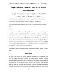Impact of Global Financial Crises on the Islamic Banking System