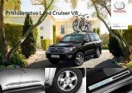 Katalog príslušenstva Land Cruiser V8 - Toyota