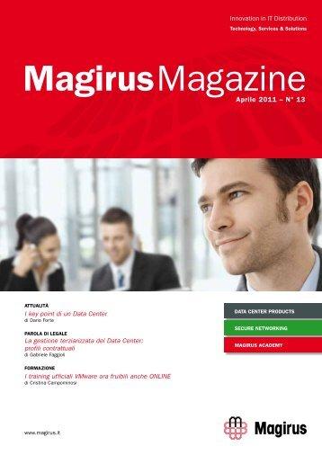 Novità in attesa di brevetto : Instant VM Recovery U-AIR ... - Magirus