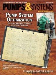 pump system optimization pump system optimization - Murphy
