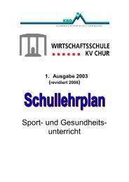 Sportkonzept - Wirtschaftsschule KV Chur