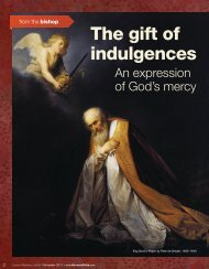 The gift of indulgences - Diocese of Tulsa