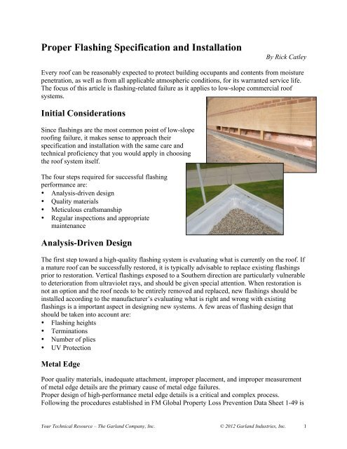 Download Full Article Pdf The Garland Company Inc