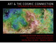 ART & THE COSMIC CONNECTION - Discovery Program - NASA