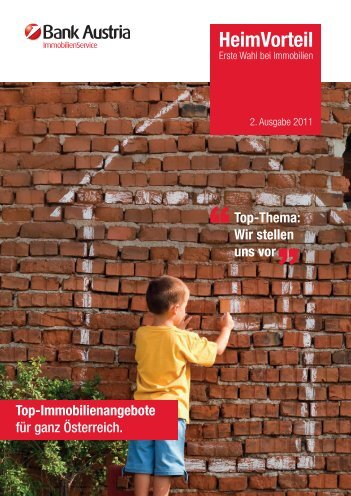 Wir stellen uns vor - Bank Austria ImmobilienService