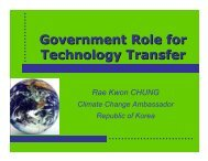 Government Role for Technology Transfer - Initiative for Policy ...