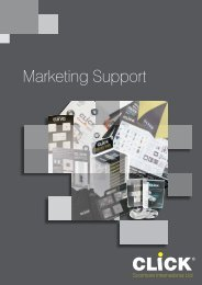 Marketing Support - SCOLMORE INTERNATIONAL LTD