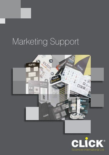 Marketing Support - SCOLMORE INTERNATIONAL LTD