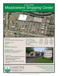 Meadowland Shopping Center - Commercial Realty Advisors