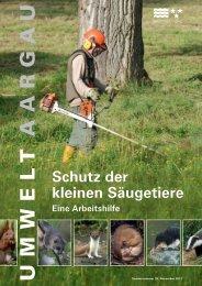Säugetiere sind besonders - Hintermann & Weber AG