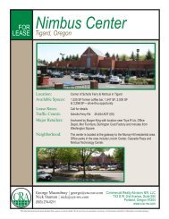 Nimbus Center - Commercial Realty Advisors