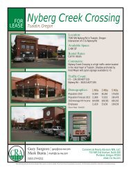 Nyberg Creek Crossing - Commercial Realty Advisors