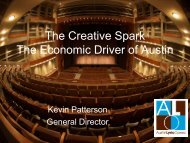 The Creative Spark - The Greater Austin Chamber of Commerce