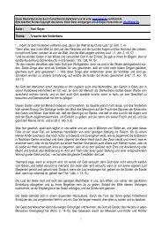Autor: Karl Geyer Thema: Ursache des Verderbens ... - Kahal.De