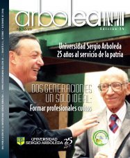 Arbolea 25F.indd - Universidad Sergio Arboleda