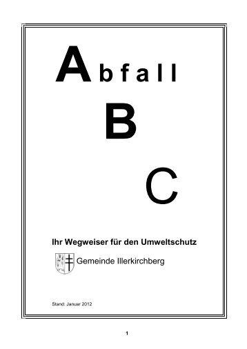 Bauschutt - Illerkirchberg