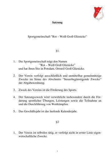 Groß Motorrad Club Satzung Vorlage Ideen - Beispiel Wiederaufnahme ...