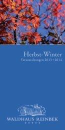 Herbst-Winter - Waldhaus Reinbek
