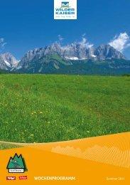 Wochenprogramm - Familiennester - Tirol