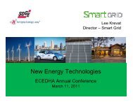 Lee Krevat, Director, Smart Grid, San Diego Gas & Electric - ecedha