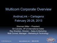 Multicom Corporate Overview