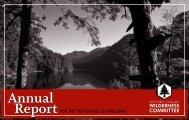 2004 Annual Report - Wilderness Committee