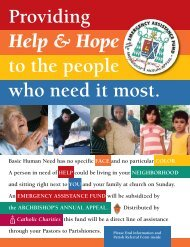 Parish Referral Form - Catholic Charities