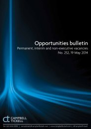 CT Opportunities Bulletin 252 190514