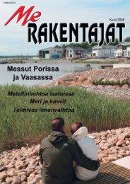 Me Rakentajat kesä 2008 - Rakentaja.fi