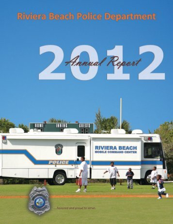 2012 Annual Report - City of Riviera Beach