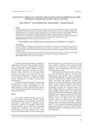 OLGU SUNUMU - Adnan Menderes Üniversitesi TIp Fakültesi Dergisi