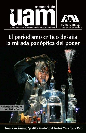 El periodismo crítico desafía la mirada panóptica del poder - UAM ...