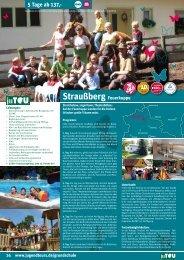 5 Tage ab 137,- Straußberg feuerkuppe - Jugendtours
