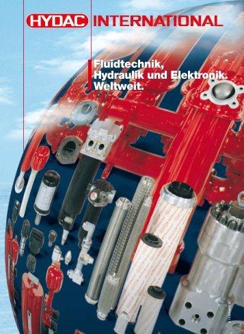 Fluidtechnik, Hydraulik und Elektronik. Weltweit.
