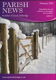 church family news - St John's Felbridge