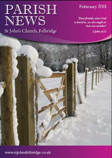 church family news - St John's Felbridge