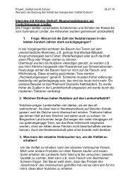 Interview mit Kirsten Osthoff - Gymnasium Lindlar
