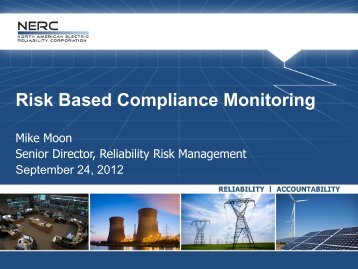 Risk Based Compliance Monitoring - EUCG