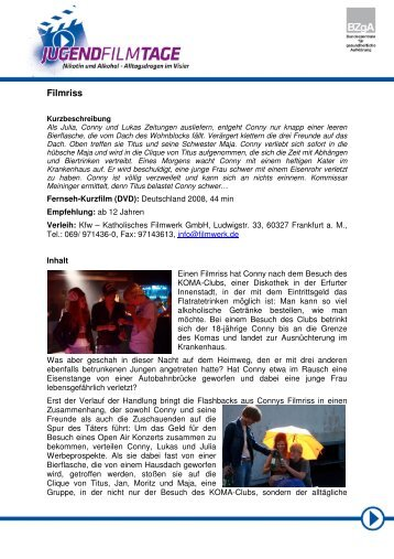 Filmriss - AWO Regionalverband Halle-Merseburg eV