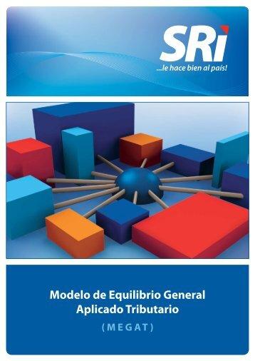 Modelo de Equilibrio General Aplicado Tributario - Centro de ...