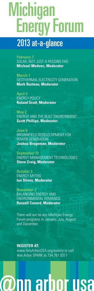 Michigan Energy Forum - Advancing the economy of the Ann Arbor ...