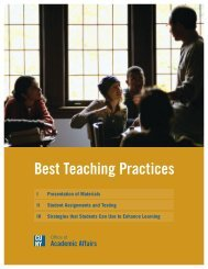 Best Teaching Practices - Units.muohio.edu