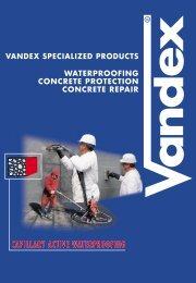 Vandex General Leaflet - Safeguard Europe Ltd.