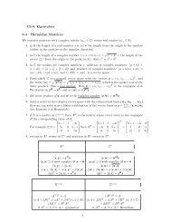 6.4 Hermitian Matrices